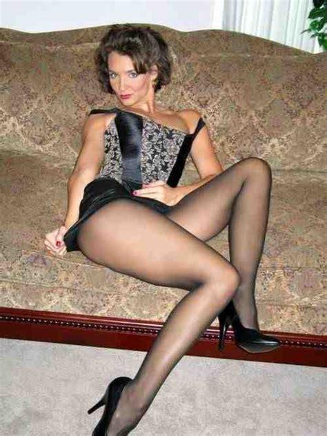 Mature  Milf  Pinterest  Legs, Black Pantyhose And Sexy