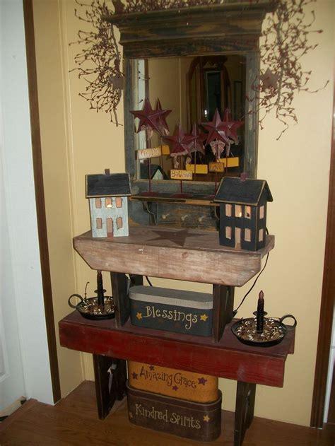 primitive decor i like the mirror primitive