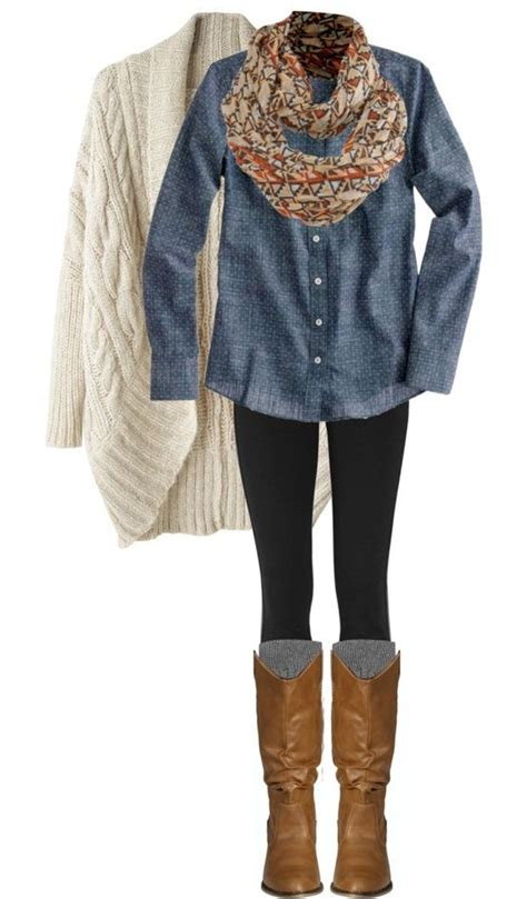 10 Stylish Outfits with Leggings and Boots 2015