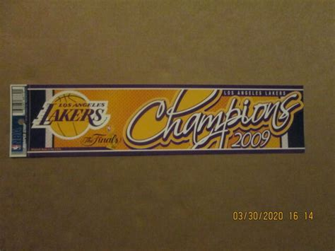 NBA Los Angeles Lakers Vintage The Finals Champions 2009 ...