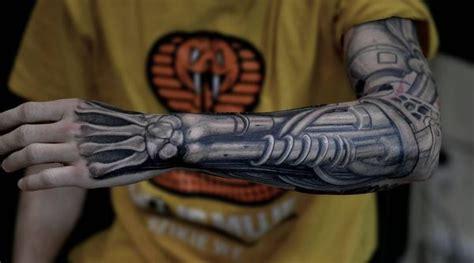 biomechanical tattoos designs  ideas