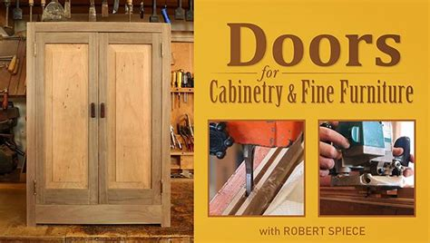 doors  cabinetry fine furniture woodworking class