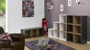 meubles cases de rangement ma chambre d39enfant youtube With meuble 8 cases