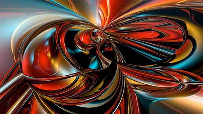 Colorful Fractal Abstraction Abstract 1080p Wallpapers Fhd