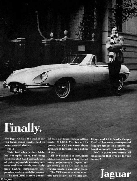 The Sexy Sixties Jaguar Ads That Even Don Couldn't Come Up