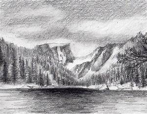 How To Draw Snowy Mountains   www.imgkid.com - The Image ...