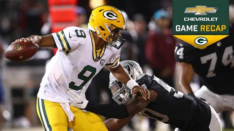 packers play sloppy game    loss  oakland