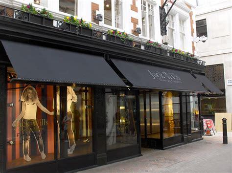 victorian shop awnings  major retail chains   uk europe  original victorian