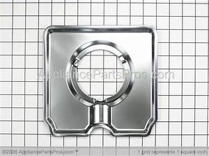 Whirlpool 1430283 Square Gas Drip Pans