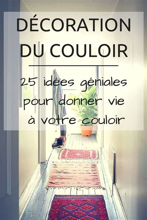 idee decoration couloir