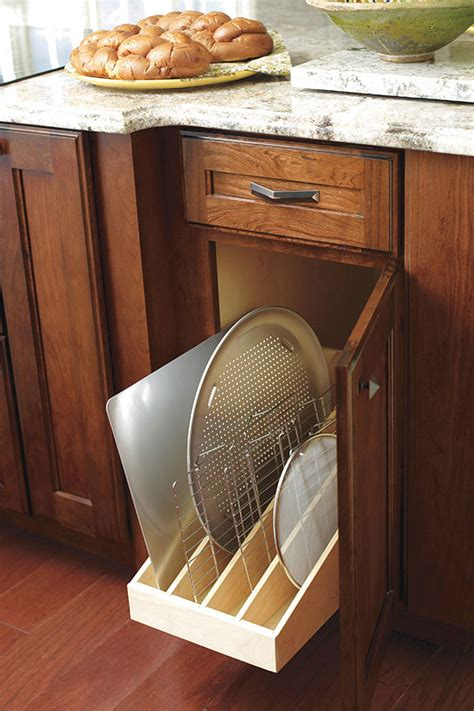 tray dividers for kitchen cabinets pull out tray divider decora cabinetry 8587