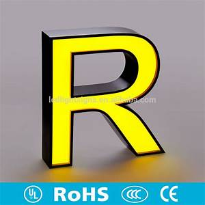hot sell front lit led stainless steel side and rim With used channel letters for sale