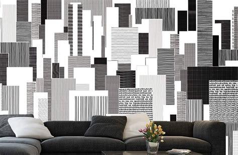 design et contraste en d 233 co murale noir et blanc