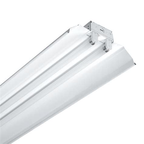 menards fluorescent lights metalux 174 8 white 4 l tandem t8 fluorescent shoplight