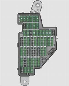 Audi Tts Coupe  2009 - 2010  - Fuse Box Diagram