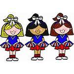 Clipart Megaphone Cheer Cheerleader Getdrawings