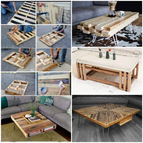 Diy Ideen Holz by Wohnzimmertisch Aus Holz Selber Bauen Tolle Diy Ideen