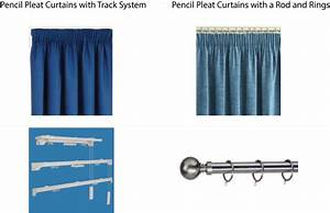 How to measure curtains pencil pleat curtains curtain for Pencil pleat curtains on track