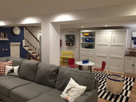 laceys multifunctional basement room
