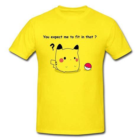 kaos t shirt the 01 pikachu pokeball nintendo graphic style t