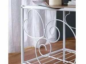 Nachttisch Metall Weiß : nachttisch metall vivian 2 farben g nstig kaufen ~ Markanthonyermac.com Haus und Dekorationen