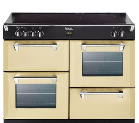 stoves induction range cooker buy stoves richmond 1000ei electric induction range cooker chagne free delivery currys