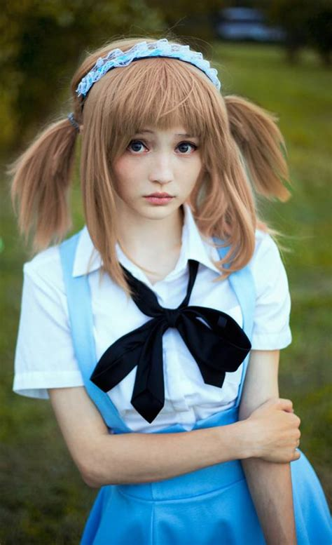 anime wanita yang imut rocksychan gadis cosplayer cantik rusia hebohkan