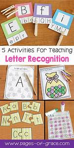 letter recognition activities uppercase lowercase With teaching toddler letter recognition