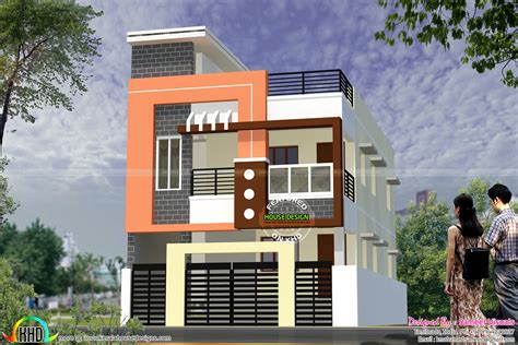 Modern South Indian home design 1900 sq-ft - Kerala home
