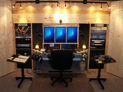 building a studio home studio idea photo built in wall tripple cpu monitor