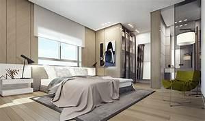 Modern Penthouse Bedroom Interior Design Ideas