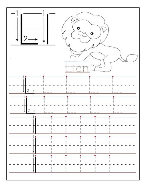 worksheets for learning to write the alphabet letters of