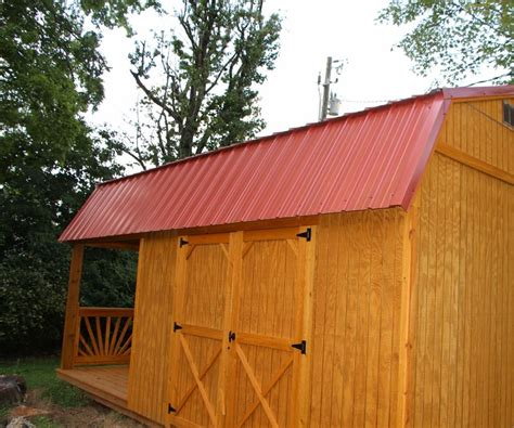 Harbor Freight Storage Shed by Adding A Harbor Freight 45 Watt Solar Panel To My Storage