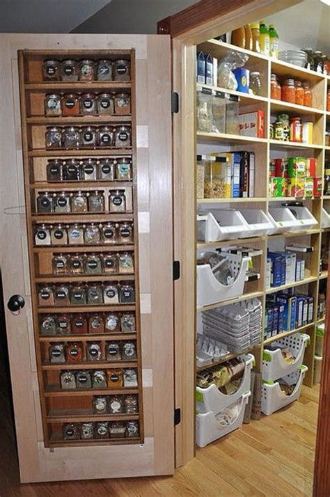 Door Mounted Spice Rack Ikea by Pantry Door Storage I Dould Do This With Ikea Spice