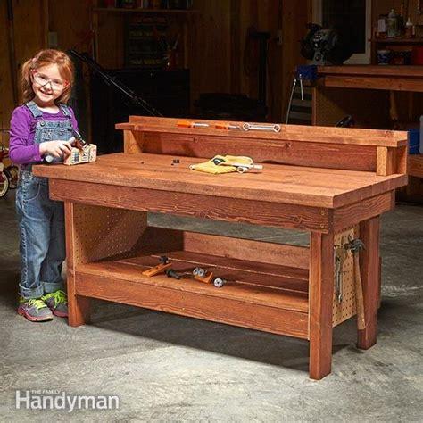 mini classic diy workbench  kids  family handyman