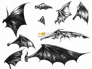 Dark Demon Wings - Brushes - Fbrushes