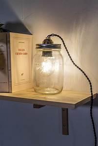 Comment Fabriquer Une Lampe : fabriquer une lampe bocal marie claire ~ Medecine-chirurgie-esthetiques.com Avis de Voitures