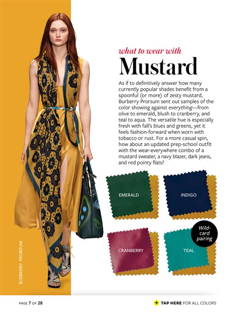 green hair mustard dress color palettes