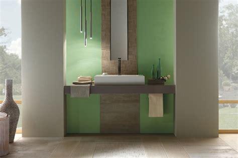 carrelage salle de bain vert et gris