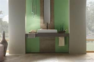 idee carrelage salle de bain d39inspiration design With carrelage salle de bain vert