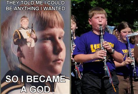 Clarinet Meme - ptsd clarinet boy meme