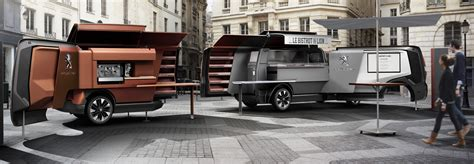 peugeot foodtruck peugeot concept car peugeot uk
