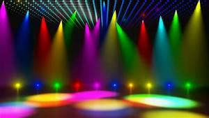 Disco Stage Dance Floor Colorful Vivid Lights Flashing 3 ...