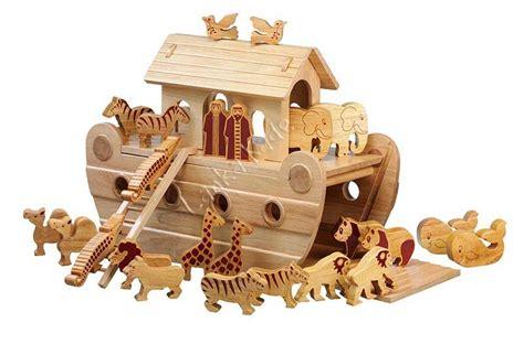natural wooden noahs ark thewoodentoyexperts blog