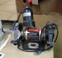 "Ryobi 6"" Thin Line Bench Grinder Model Bgh615"