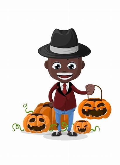 Halloween Vector Character Characters Cartoon