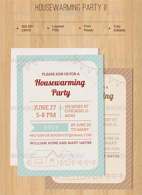 amazing housewarming invitation templates