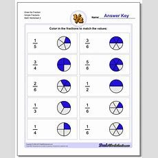 Draw Simple Fractions