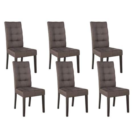 chaises salle à manger alinea chaises de salle a manger taupe