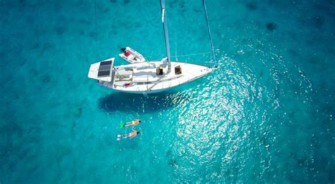 sailboat couple couples luxury aerial caribbean boat snorkeling romantic yacht adventure getaways most vacations beach getty islands tied mauritius virgin